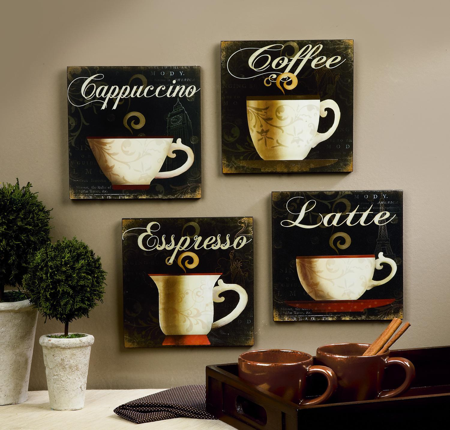Wonderful Adorable Kitchen Decorations For A Coffee Lover Picture