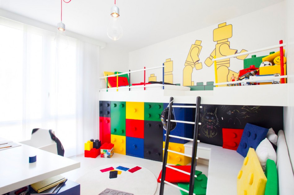 Creative decor ideas for kids 39 rooms for Creative room decor