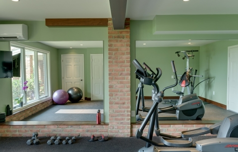 Tips for Designing a Home Fitness Room Picture